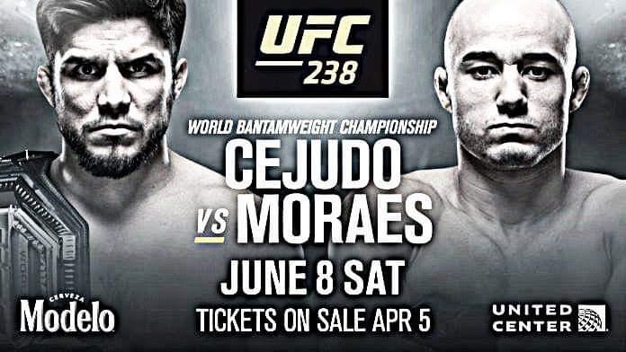 Se confirma lucha para UFC 238
