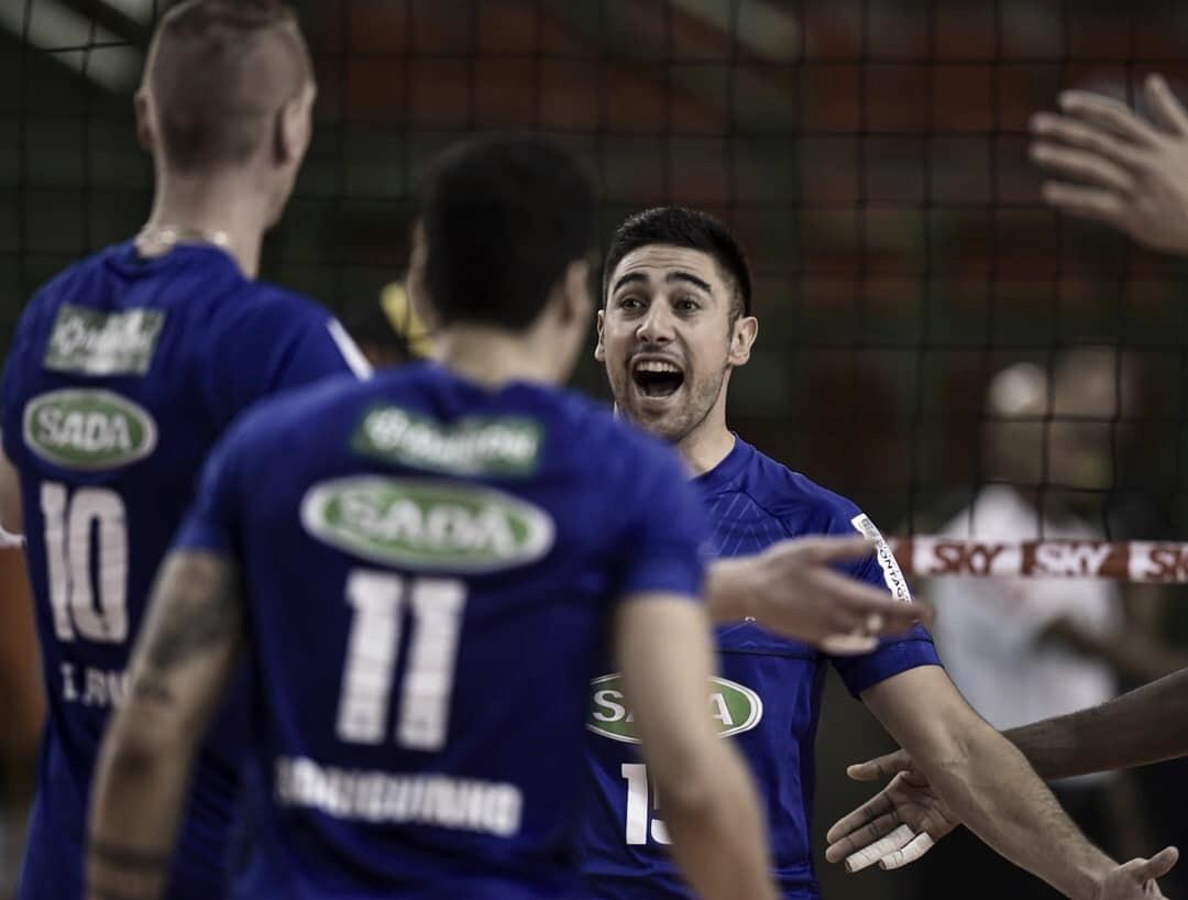 Em casa, Sada Cruzeiro vence Caramuru