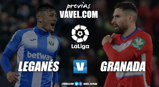 Previa CD Leganés - Granada CF: duelo con objetivos muy dispares
