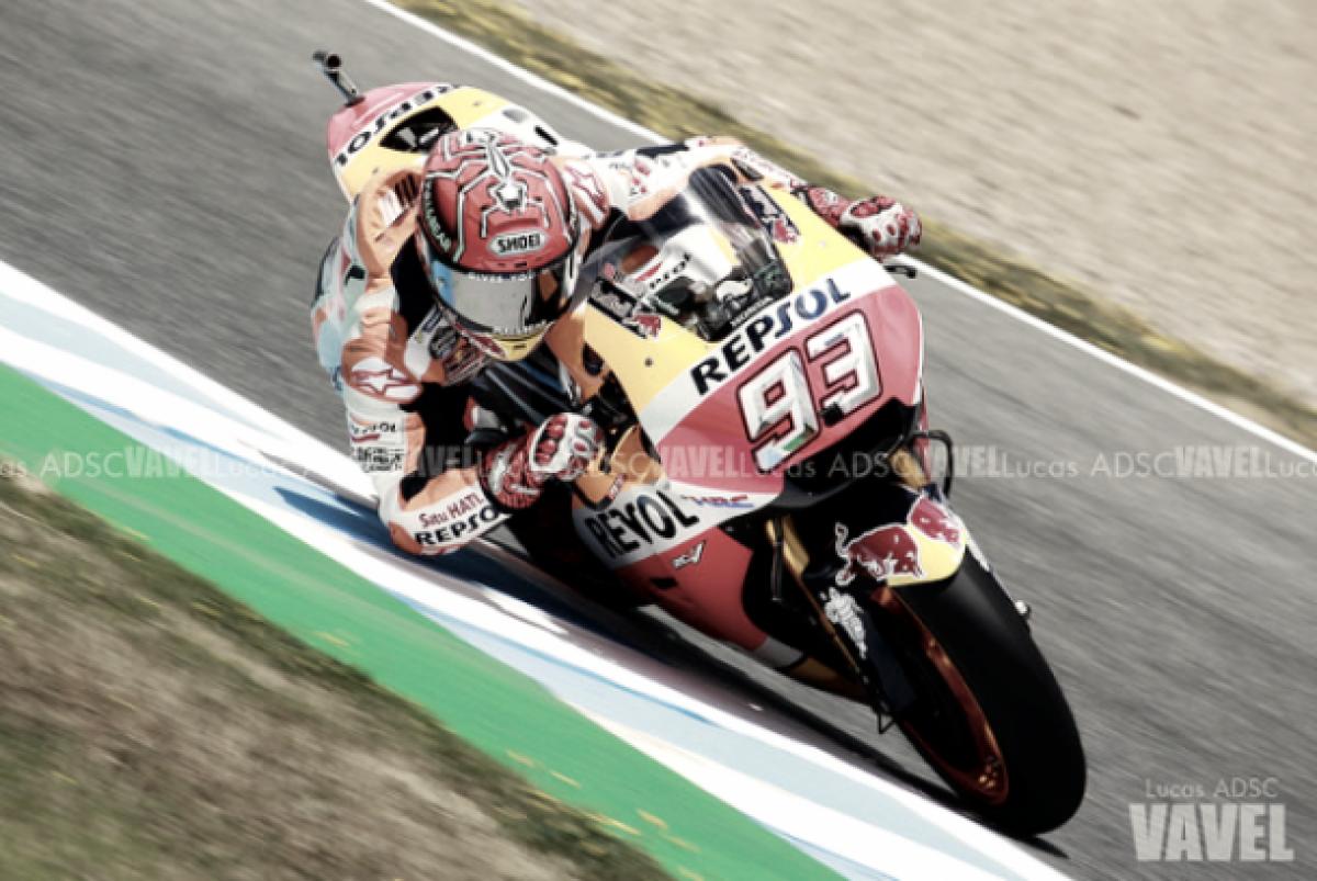 MotoGP, Gp d'Argentina - Marquez domina le FP2, crisi Ducati