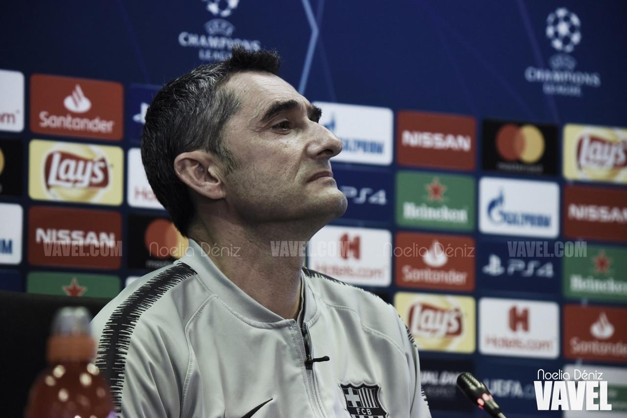 """Ernesto Valverde: """"El abrir el partido era fundamental porque no estaba claro de quién era"""""""