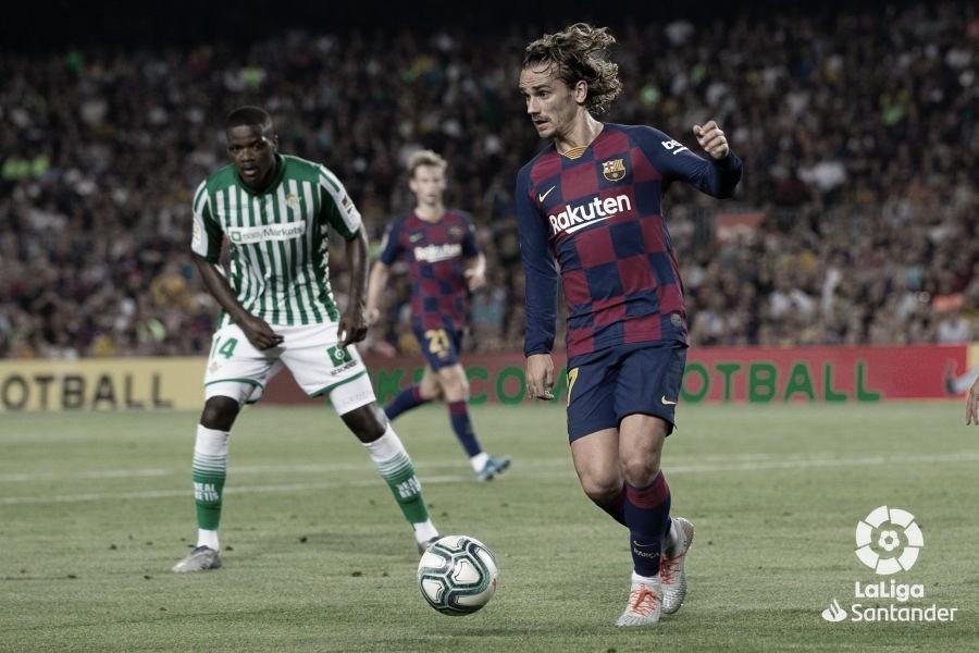 Barça - Betis: manita y farolillo rojo