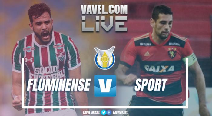 Resultados e gols de Fluminense x Sport no Brasileirão 2017 (1-2)