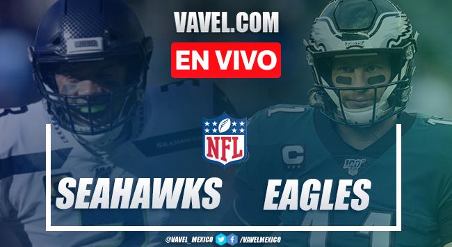 Touchdowns y resumen del Seahawks 23-17 Eagles en la NFL 2020