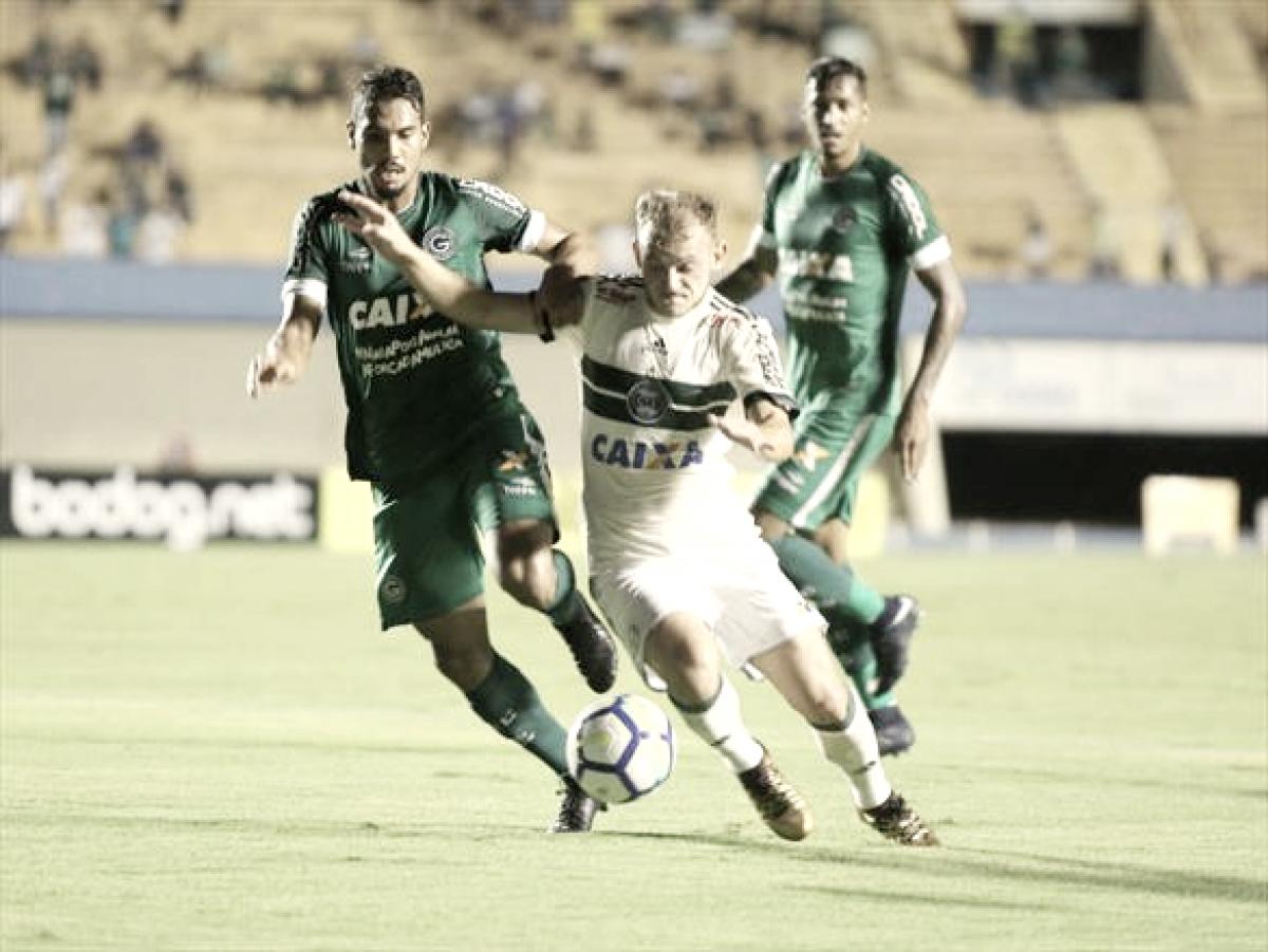 Lutando para avançar na Copa do Brasil, Coritiba e Goiás fazem partida de volta no Couto Pereira