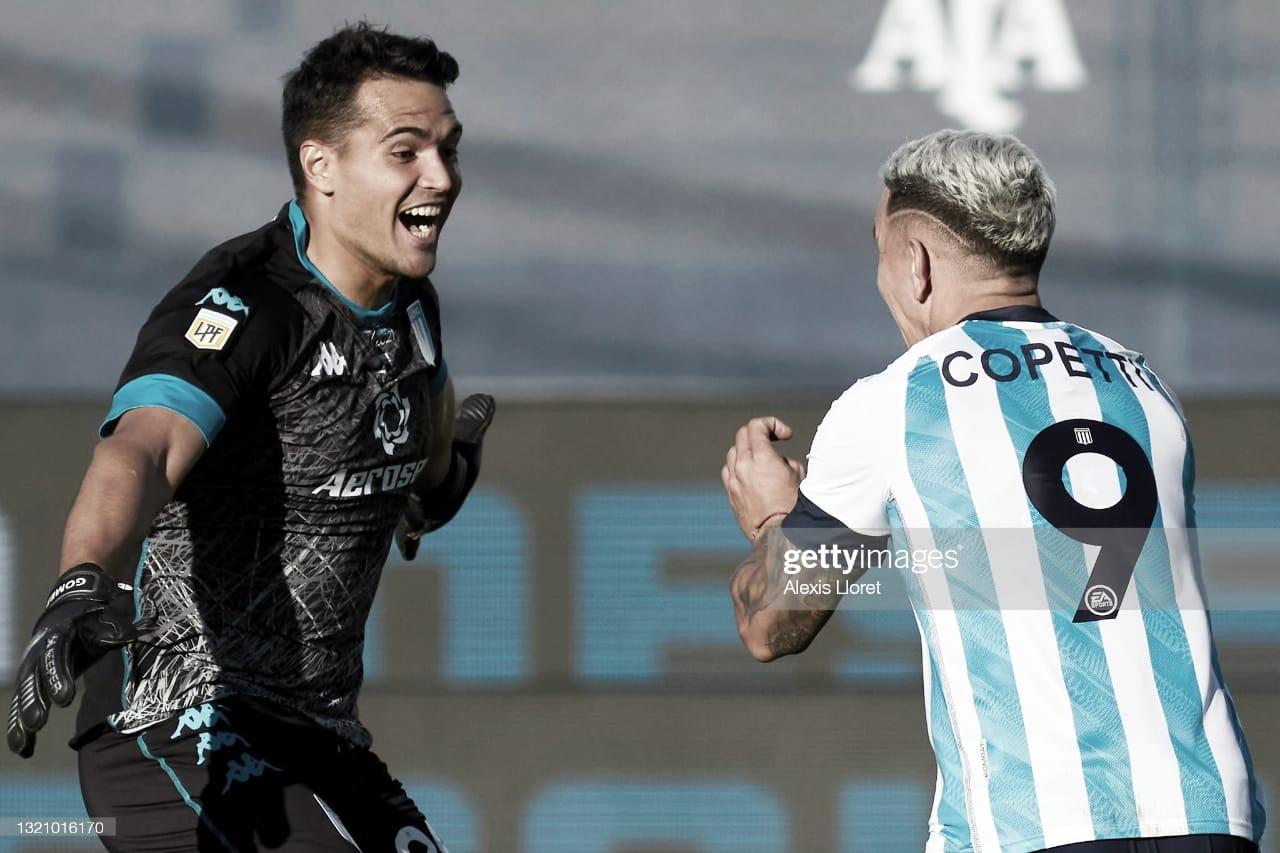 Racing venció a Boca por penales y pasó a la final de la copa