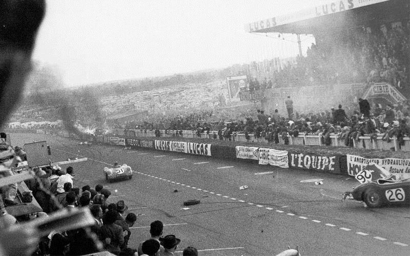 A 65 años de la tragedia en Le Mans