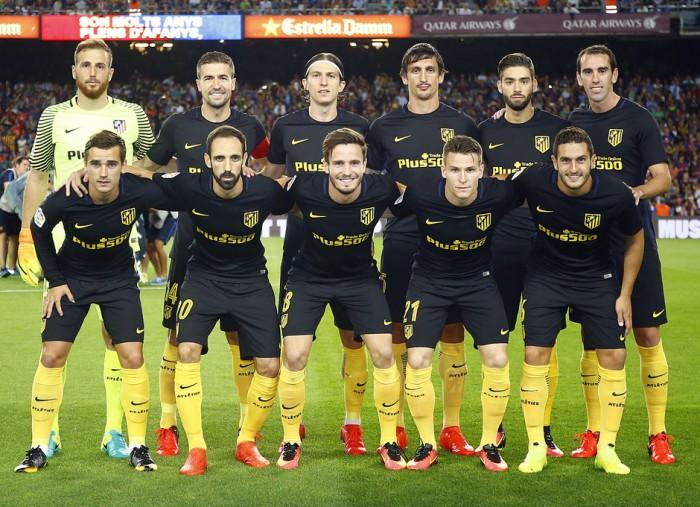 Barcelona - Atlético de Madrid: puntuaciones Atleti, jornada 5