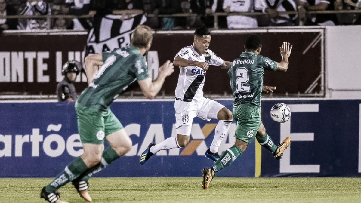 """Após mais uma derrota, técnico da Ponte Preta avalia: """"No mínimo merecíamos o empate"""""""