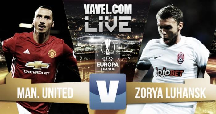 Resultado de imagen para Imágenes recientes de Manchester United vs FC Zorya Luhansk