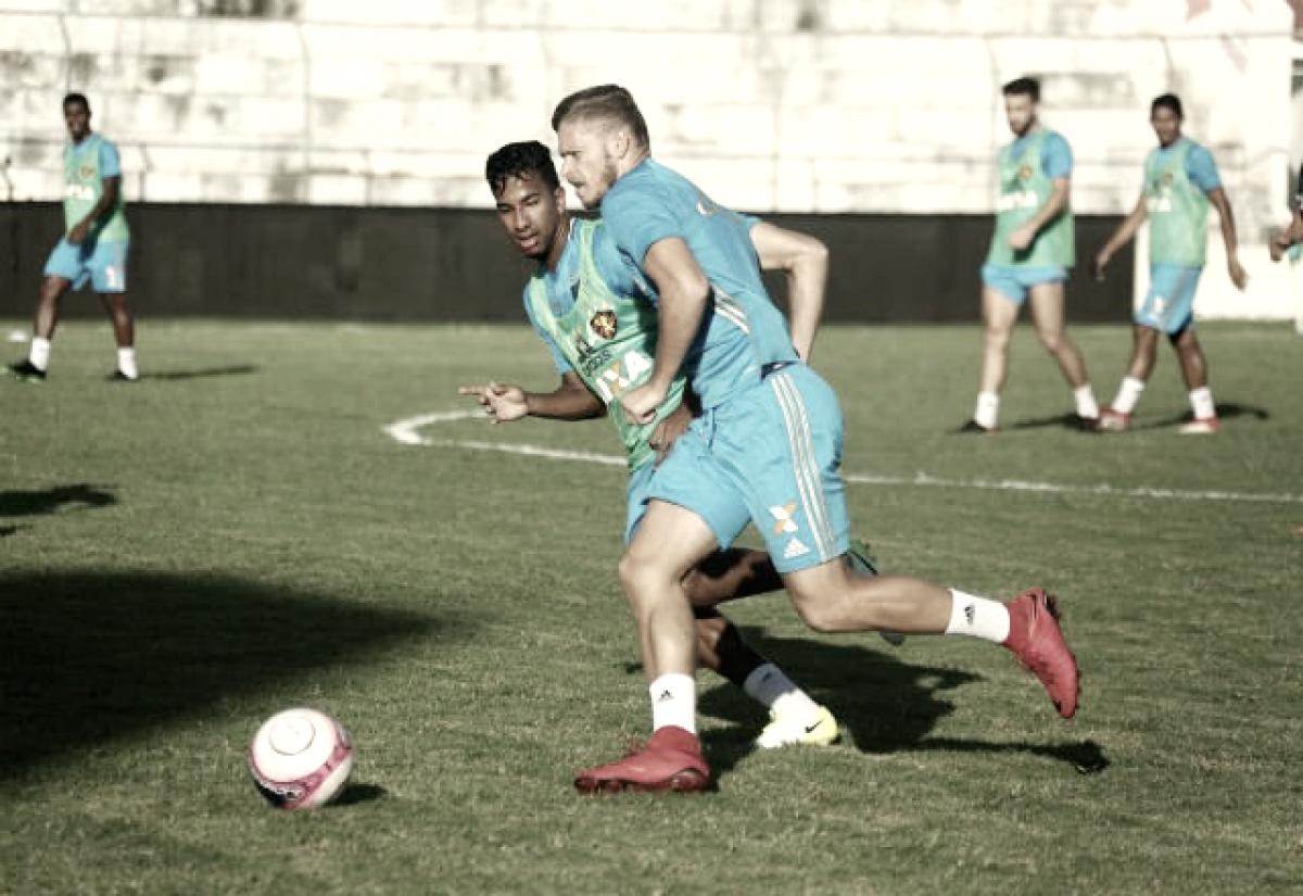 Sem André e com Índio de titular, Sport finaliza preparação para encarar Salgueiro, no Cornélio de Barros