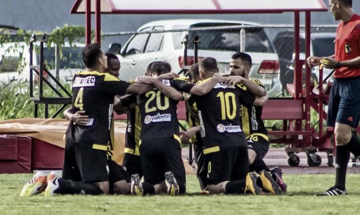 Deportivo Táchira se estaciona en la cima del Apertura 2017