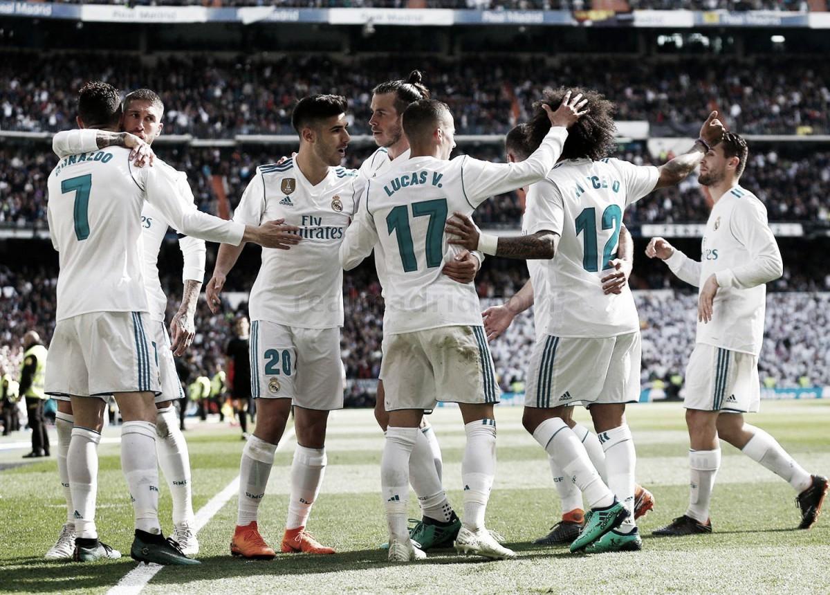 Real Madrid-Atlético de Madrid: puntuaciones del Real Madrid, jornada 31 de la liga Santander