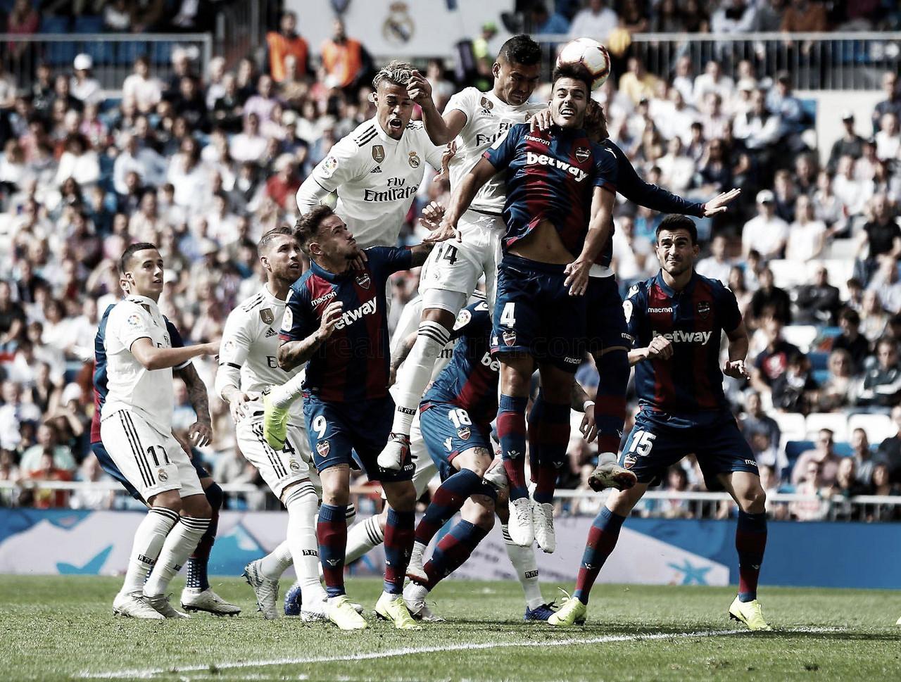 Tres derrotas consecutivas del Real Madrid después de nueve años