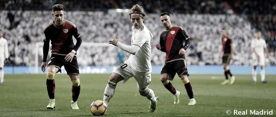 Resultado e gols de Rayo Vallecano x Real Madrid pela La Liga(1-0)