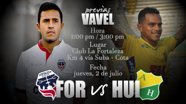 Atlético Huila y Fortaleza jugarán partido amistoso