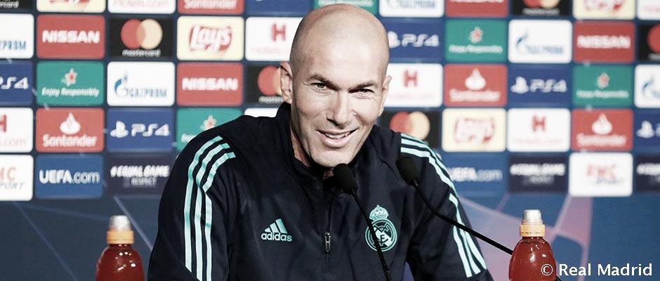 "Zinedine Zidane: ""Hazard está listo para jugar"""