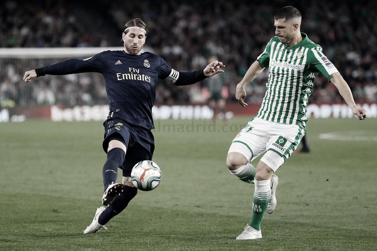 Real Betis Balompié vs. Real Madrid: horario y dónde ver el encuentro