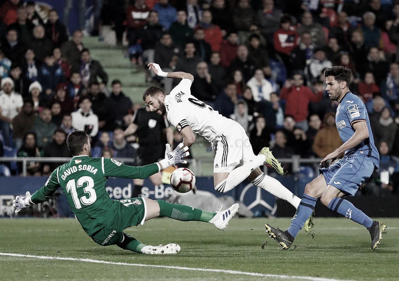 Análisis Getafe-Real Madrid: Destellos entre puntos perdidos