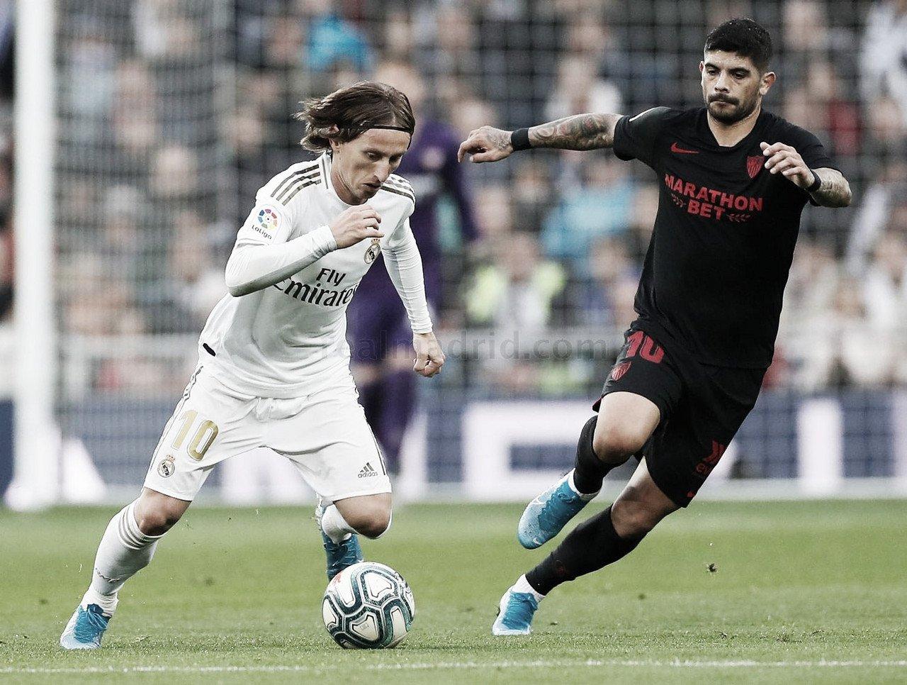 El Real Madrid recibe al Sevilla sin Ramos ni Mendy
