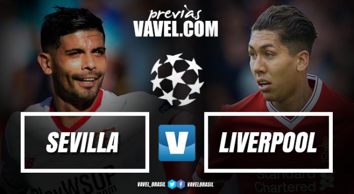Sevilla e Liverpool duelam pela liderança do Grupo E da Champions League