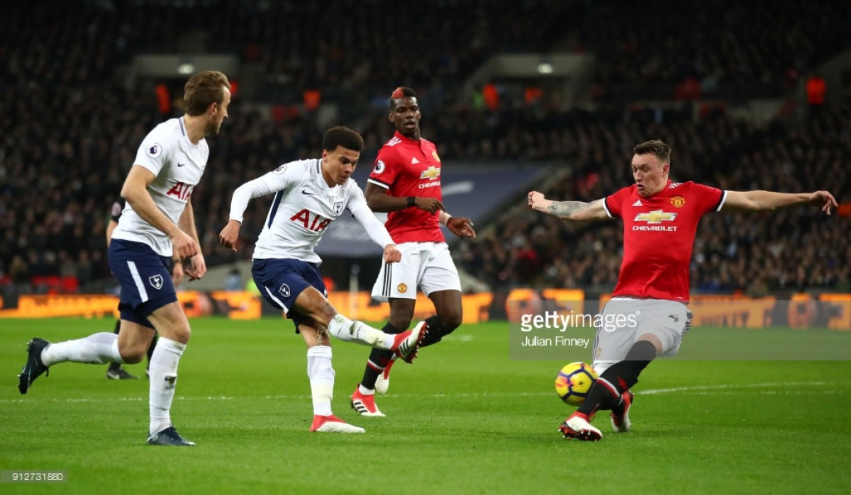 Image result for FA Cup Manchester United vs Tottenham Hotspur semi-final pic logo 2018