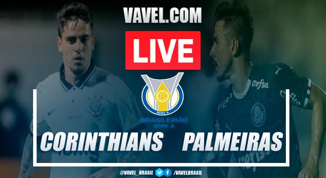 Gols e melhores momentos para Corinthians 0x2 Palmeiras pelo Campeonato Brasileiro 2020