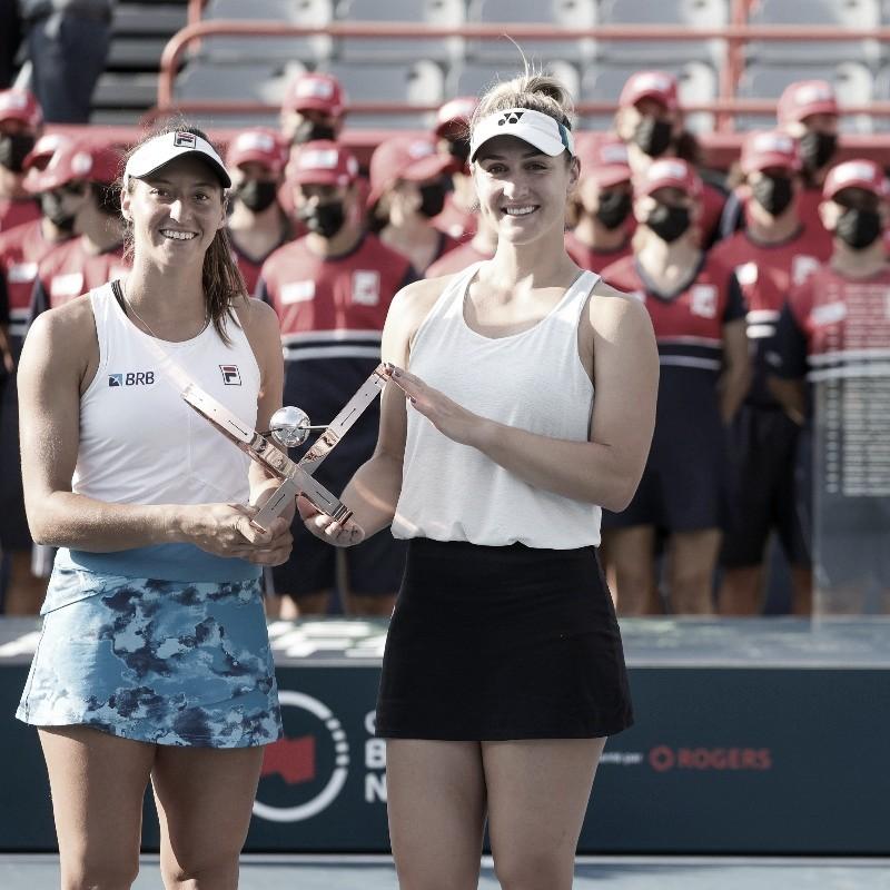 Luisa Stefani y Gabriela Dabrowski, campeonas en dobles