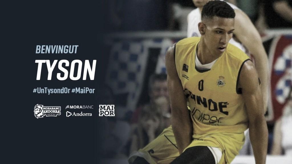 Tyson Pérez, nuevo fichaje de Morabanc Andorra
