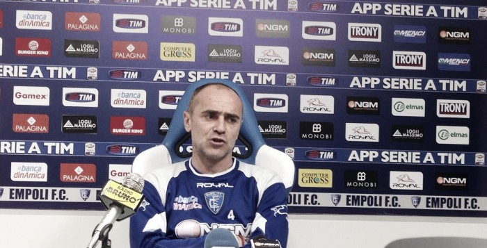 "New Empoli coach Martusciello ""never expected"" the job"