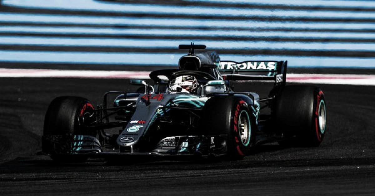 Hamilton se quedó con la pole en Paul Ricard