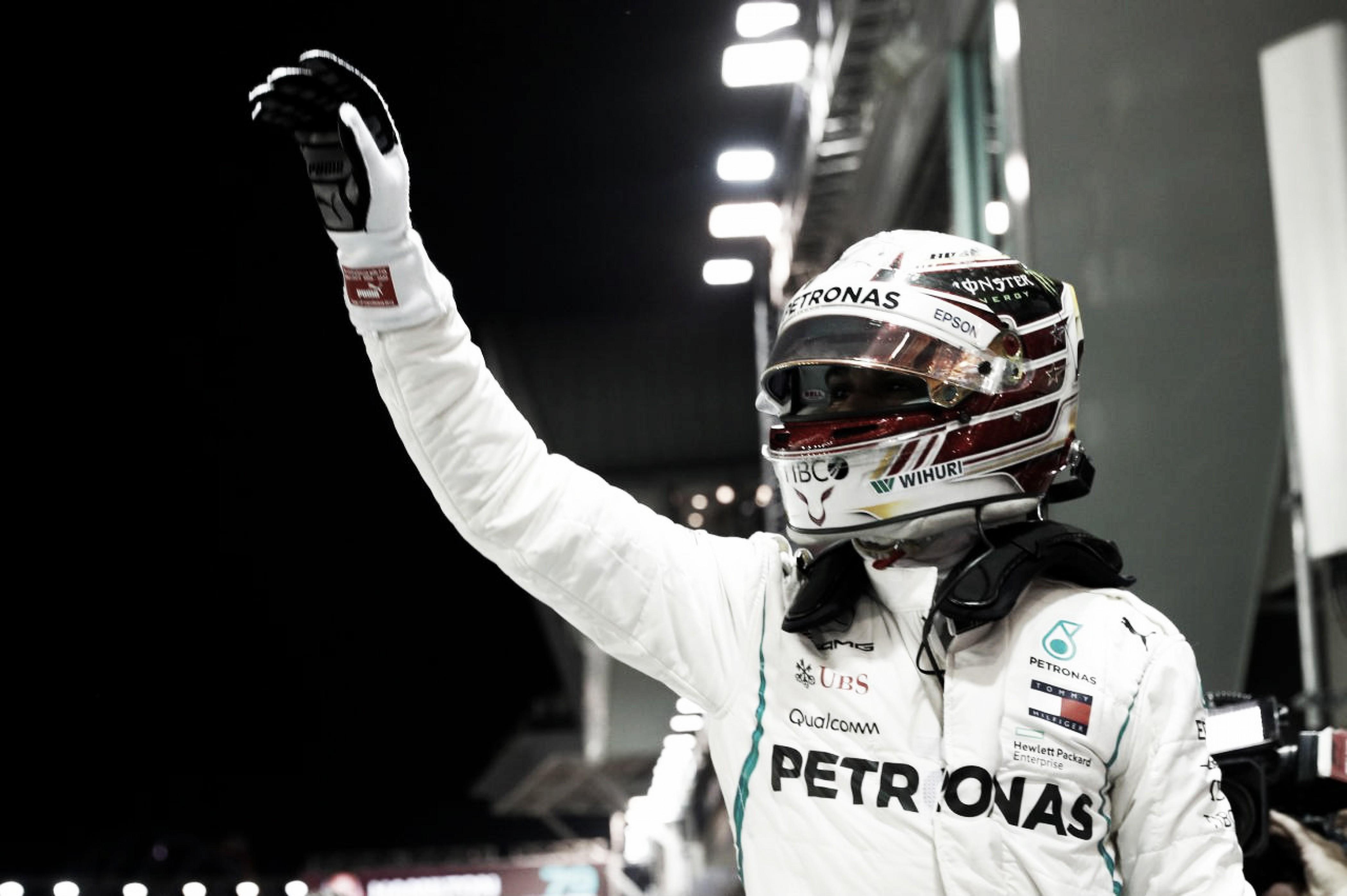 Hamilton redondeó un tiempo formidable