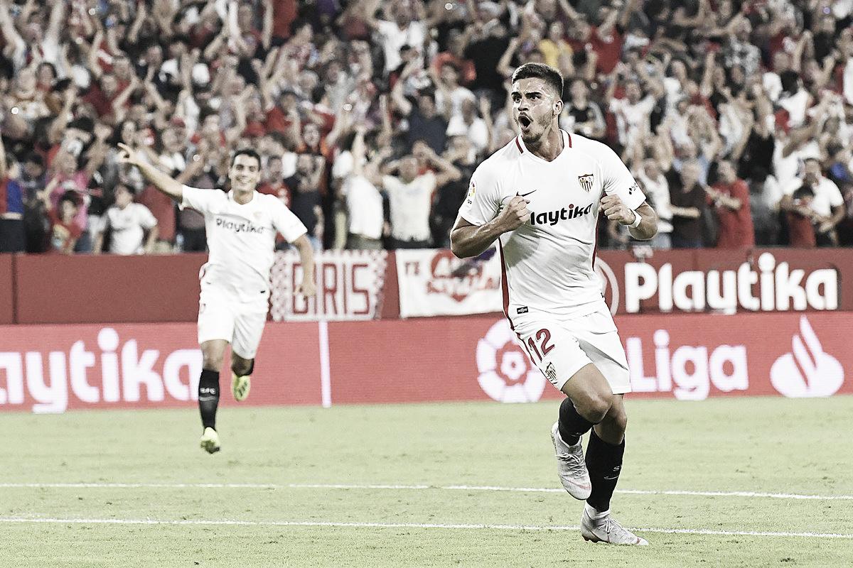 Sevilla resolve no primeiro tempo e bate Real Madrid pela La Liga