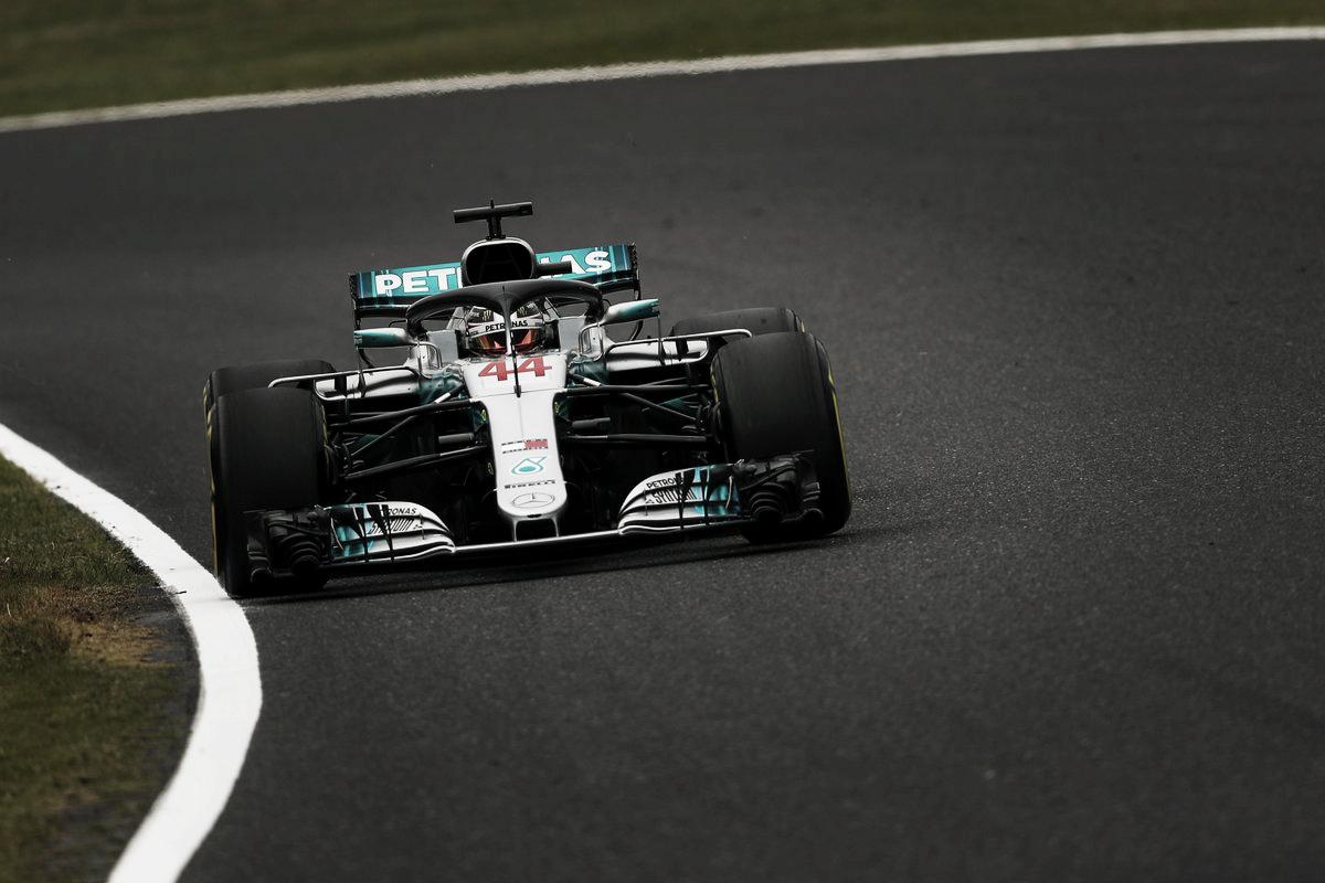 Mercedes, a gusto en Suzuka
