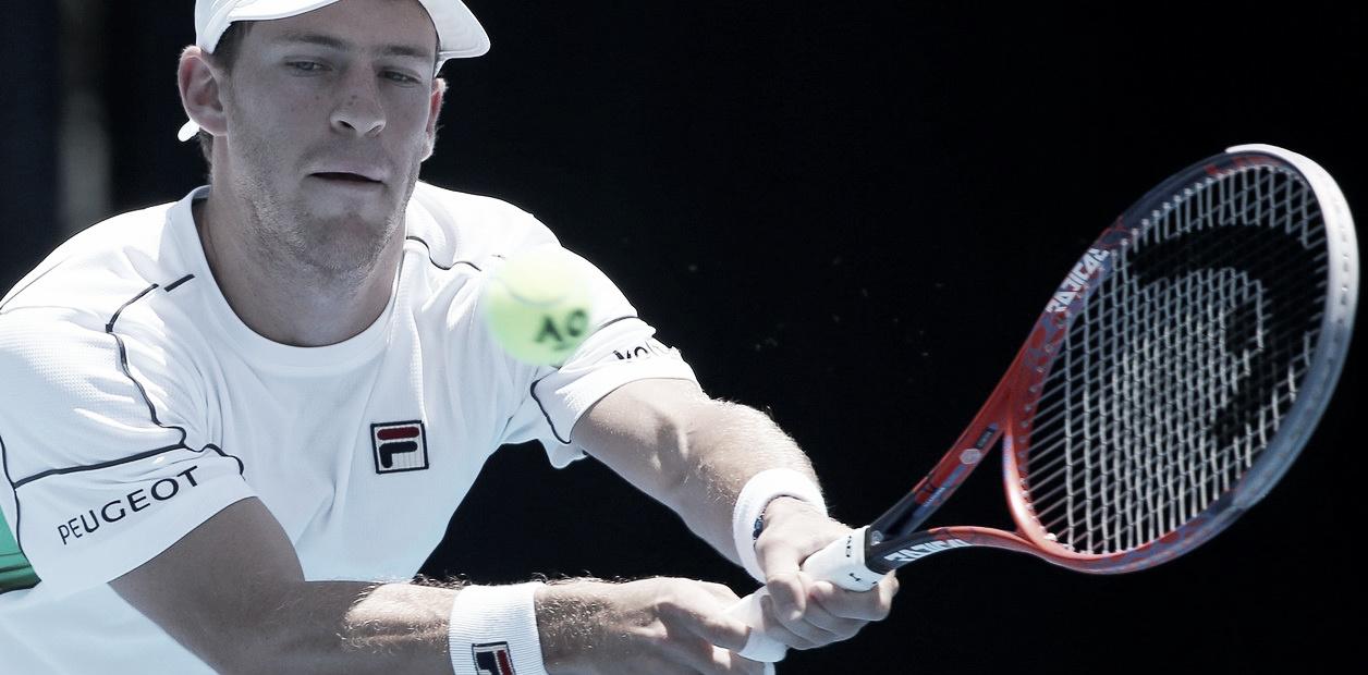 Schwartzman, sólido en su debut en Sydney