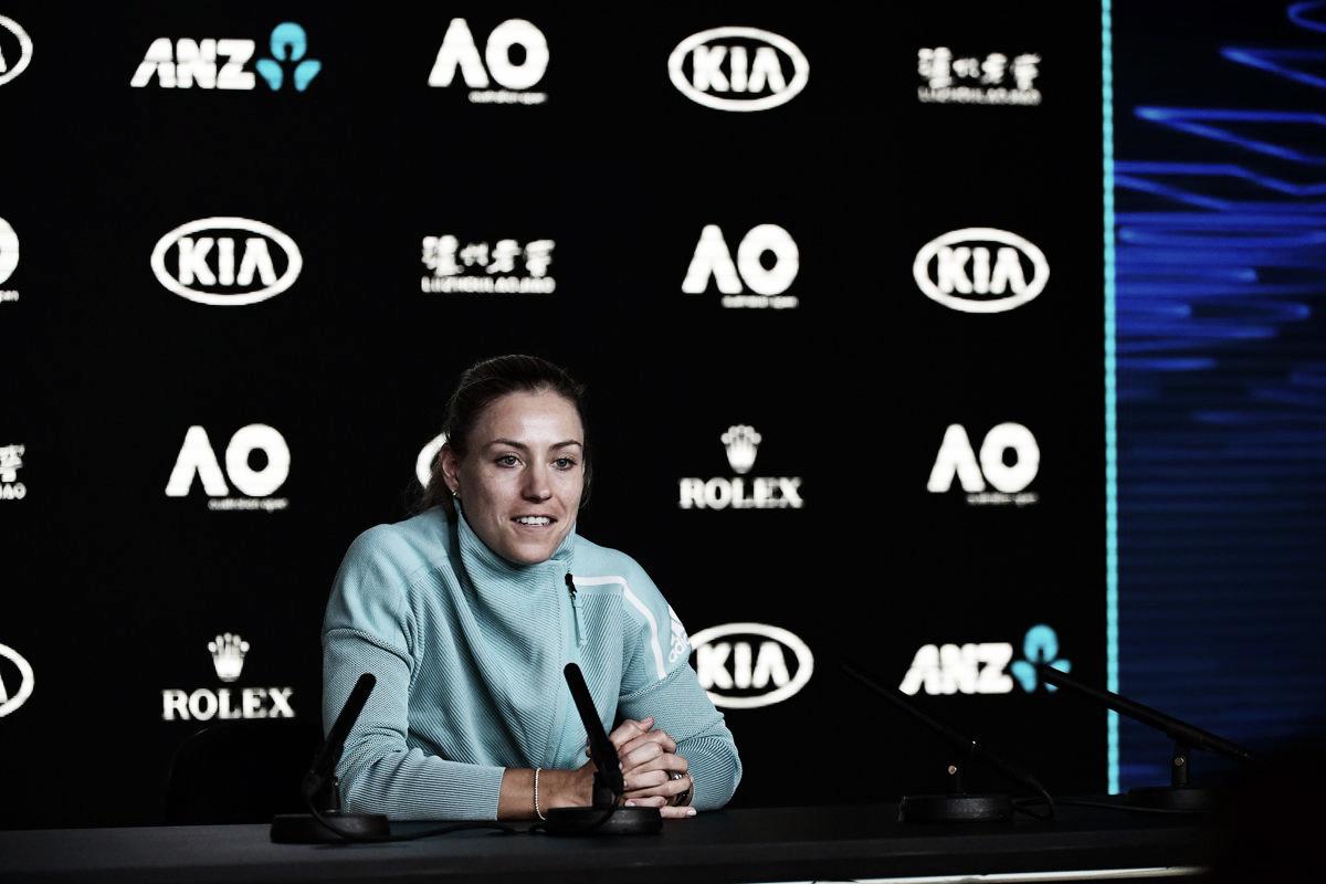 """Kerber: """"Sé que estoy jugando bien, así que llego con mucha confianza"""""""