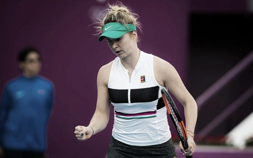 Svitolina debutó con victoria en Doha