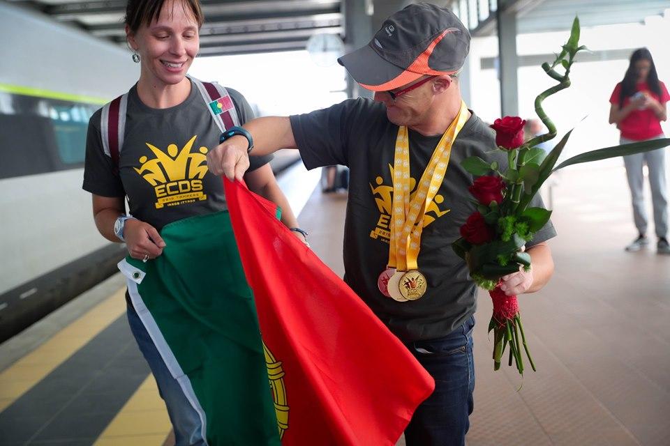 Paulinho campeão europeu