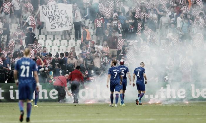 """Euro 2016, la Croazia rischia una sanzione dalla Uefa, Rakitic lancia l'allarme: """"Rischiamo l'espulsione"""""""