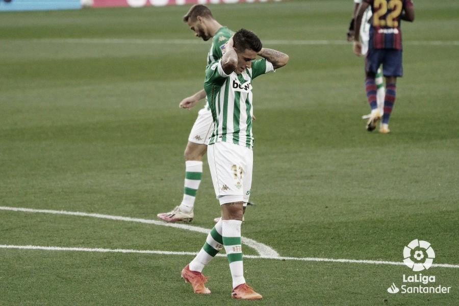 FC Barcelona - Real Betis Balompié: puntuaciones del Real Betis, 9ª jornada de LaLiga Santander