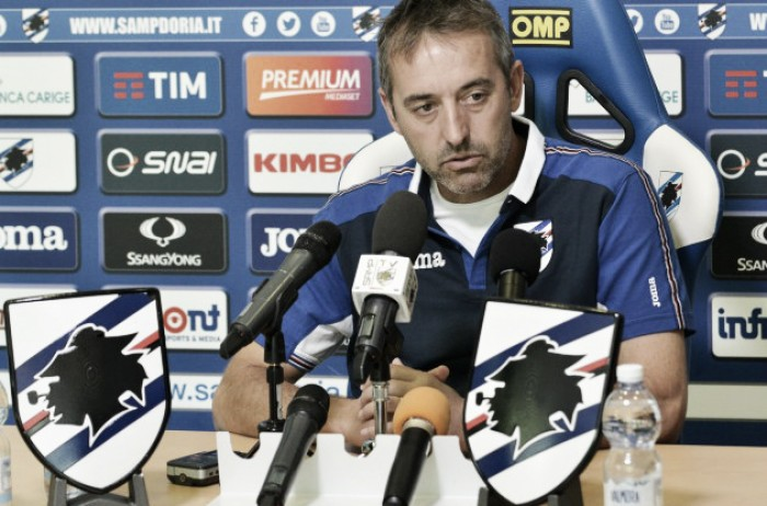 """Sampdoria, Giampaolo attende l'Inter: """"E' una squadra imprevedibile, ma ha grandissimi calciatori"""""""