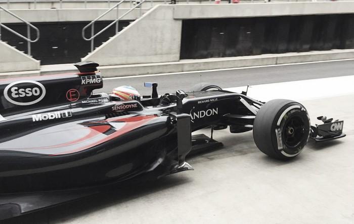 Alonso marcó el mejor tiempo en los tests de Silverstone