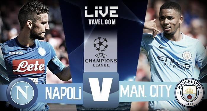 Champions, Napoli-Manchester City: 2-4, azzurri a rischio Europa League