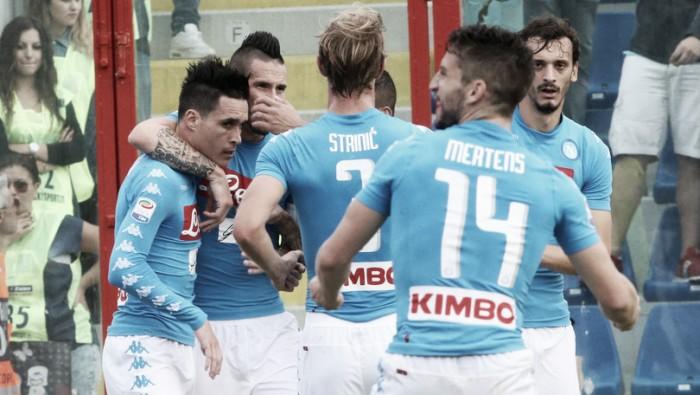 Napoli - Lazio in Serie A 2016/17 (1-1): Keita stoppa il Napoli. La Lazio resta davanti!