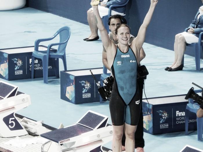 Sarah Sjöström a velocidad récord