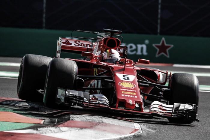 Vettel se adjudicó la referencia en México