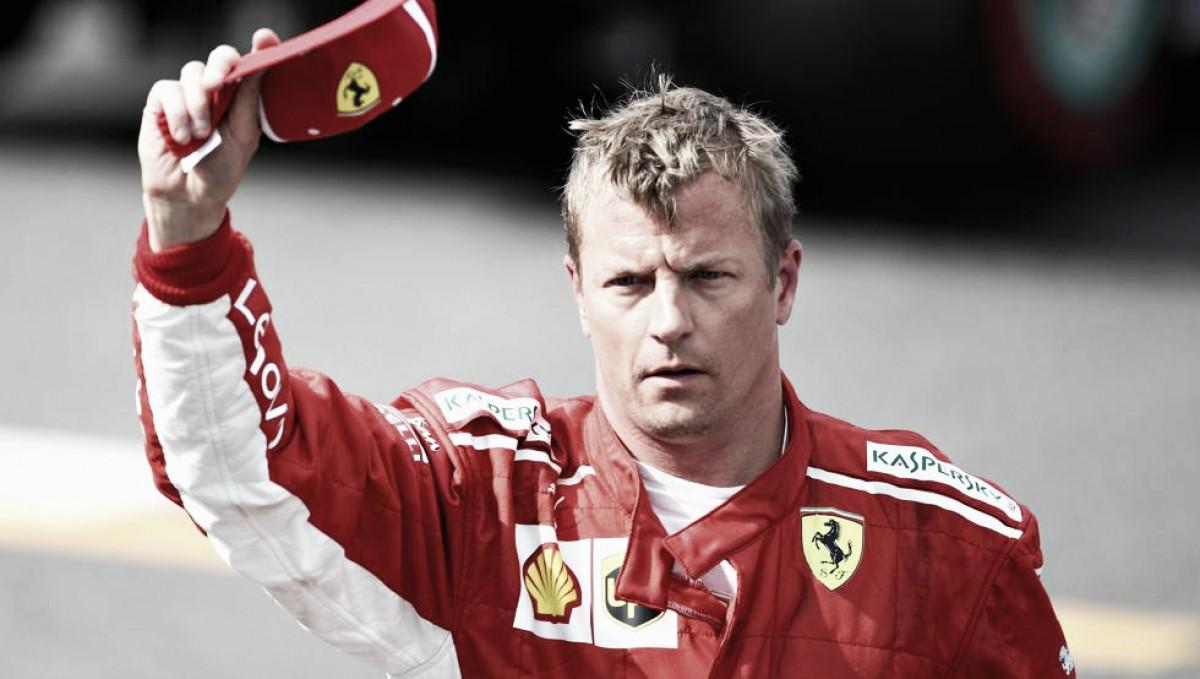 Raikkonen largará adelante en Monza
