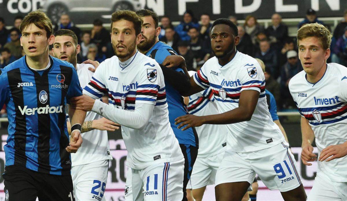 Serie A - Atalanta rabbiosa ma poco lucida, la Sampdoria vince col pallonetto di Duvàn Zapata (1-2)