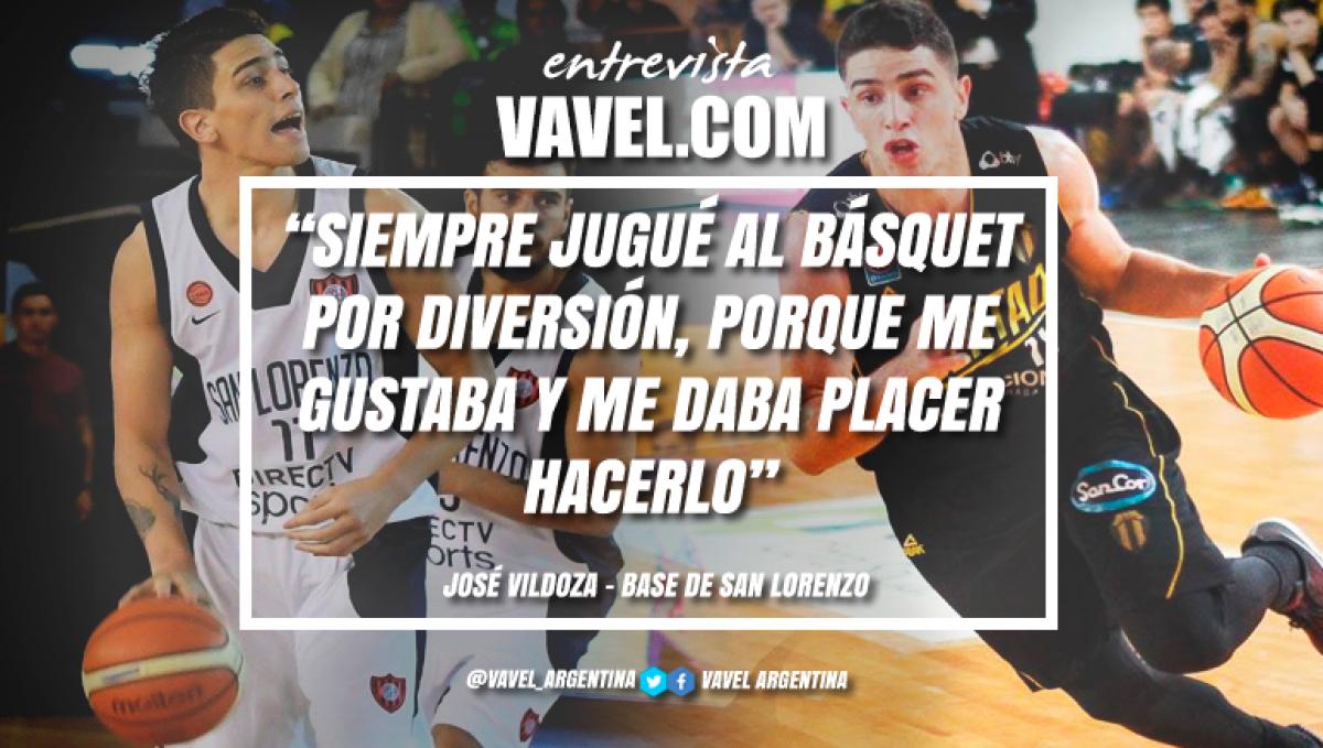 """Entrevista (parte I). José Vildoza: """"De chico quería jugar al fútbol"""""""