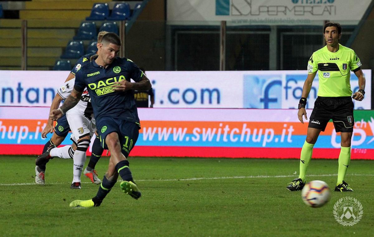 Serie A - Grande Udinese per un'ora, poi la Samp non sfonda (1-0)